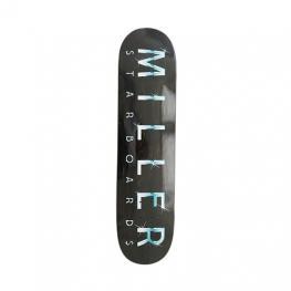Tabla Skate Miller Star 8.25  X 32  Negro
