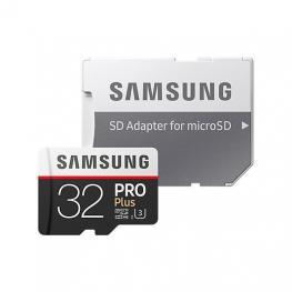 Tarjeta de Memoria Micro Sdhc 32Gb Samsung Pro+ Uhs-I Cl10