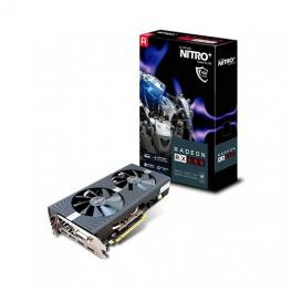 Tarjeta Gráfica Sapphire Rx580 Nitro+ Oc 4Gb Backplate Gddr