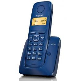 Telefono Inalambrico Dect Digital Gigaset A120 Azul
