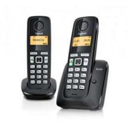 Telefono Inalambrico Dect Digital Gigaset As405 Duo