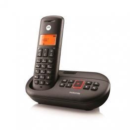 Telefono Inalambrico Dect Digital Motorola E201 Negr