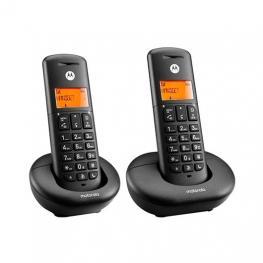 Telefono Inalambrico Dect Digital Motorola E202 Duo