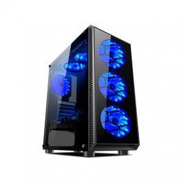Torre Atx L-Link Avatar Led Azul