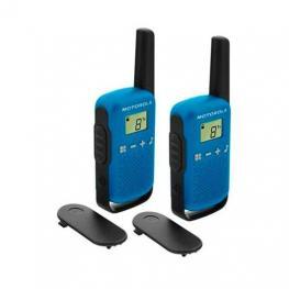Walkie-Talkie Motorola T42 Dual 1,3 Lcd 4 Km (2 Pcs)
