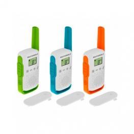 Walkie-Talkie Motorola Tlkr-T42 Packs 3
