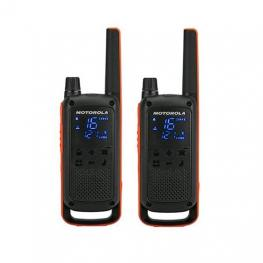 Walkie-Talkie Motorola Tlkr-T82 Negro Packs 2