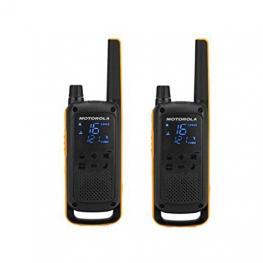 Walkie-Talkie Motorola Tlkr-T82Extreme Negro Pack2