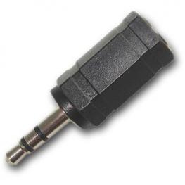 Adaptador Jack 3.5-H A 2.5-M Stereo Satycon