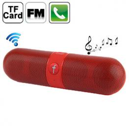 Altavoz Portatil Bluetooth F-Pill Fm Usb Tf Rojo