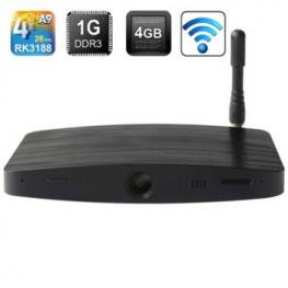 Android Tv Measy B4C Rk3188 Quad Core Webcam 1Gb