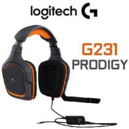 Auriculares Gaming Logitech G231 Prodigy Jack 3.5
