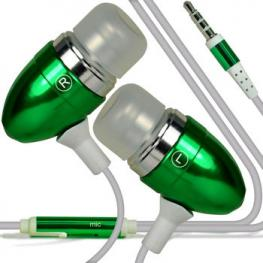 Auriculares Manos Libres Iphone Android Verde