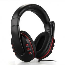 Auriculares Stereo+Microfono Usb Pc/ps3 Gaming