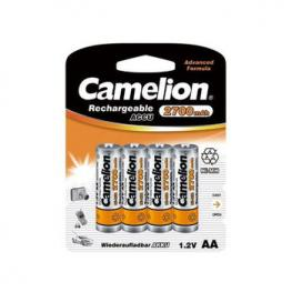Baterias/pilas Recargablescamelion Aa X4 2700Mah