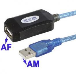 Cable Alargador Usb 2.0 Activo 20M Satycon