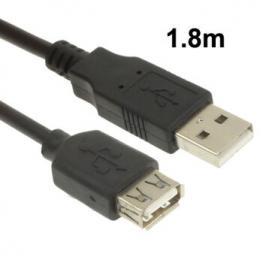 Cable Alargador Usb2.0 1.8 Metros Satycon