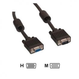 Cable Alargador Vga+ Db15 Macho-Hembra 30M Satycon