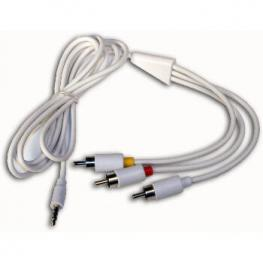 Cable Av (3Xrca) Para Ipod Satycon