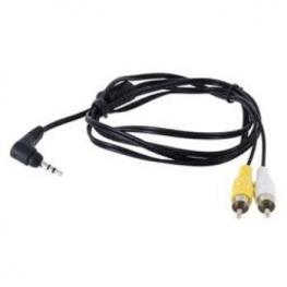 Cable Av Canon Jack 3.5 A 2X Rca