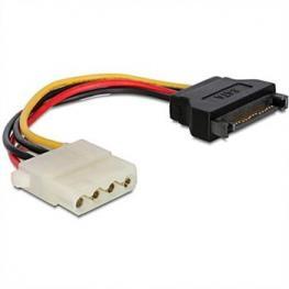 Cable Corriente Sata 15P Macho A Molex 4P Hembra