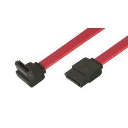 Cable Datos Sata M/m Acodado 0.45Mts Rojo
