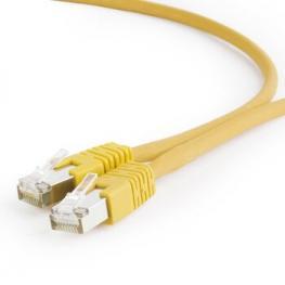 Cable de Red Rj45 Ftp Utp Lszh Cat6 Amarilo 2M