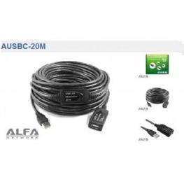 Cable Extensor Usb Activo Alfa Networks Ausbc-20M