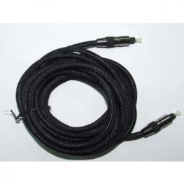 Cable Fibra Optica Toslink 5M ~ 5.0Mm Profesional