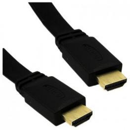Cable Hdmi V1.4 Plano 1M Macho-Macho Uhd 4K 2160P