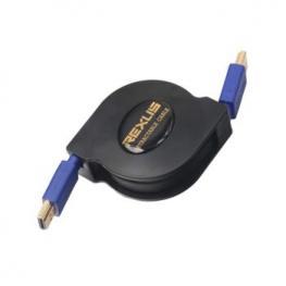 Cable Hdmi V1.4 Retractil 1M Satycon Rexlis