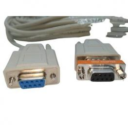 Cable Null Modem 10 Metros Serie Db9 H-H
