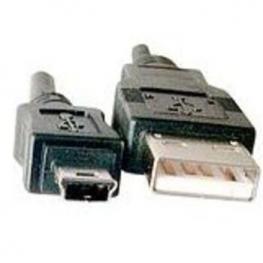 Cable Usb 2.0 Am - Mini B 5 Pines 0.60 Metros Saty