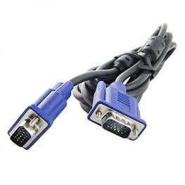 Cable Vga+ Db15 Macho-Macho 3M Negro