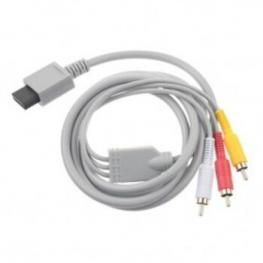 Cable Video Av 3Xrca Hd Para Wii Satycon