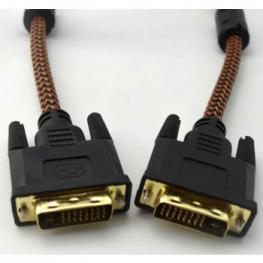 Cable Video Dvi-D Dual Link Macho-Macho 5M Nylon