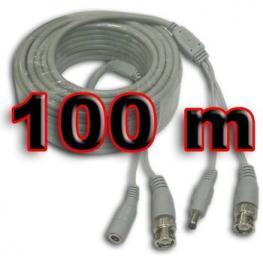 Cable Videovigilancia Con Alimentacion 100M Satyc