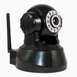 Camara Ip Wifi Motorizada Ir 616Ws Negra Satycon
