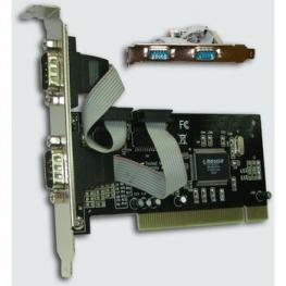 Controladora Pci 2 Puertos Serie 2Xrs-232 Satycon