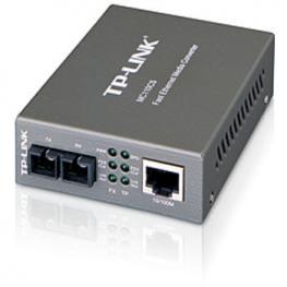 Conversor Medios Tplink Mc110Cs Monomodo Sc