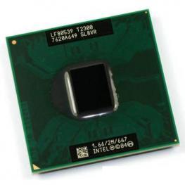 Cpu Intel Portatil T2300 / 1.66Ghz / 2Mb Sl8Vr