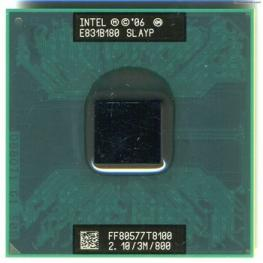 Cpu Intel Portatil T8100 2.10Ghz S479-478 Usado
