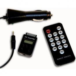 Emisor Fm Inalambrico+Mando Iphone / Ipod / Ipad