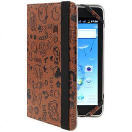 Funda Tablet / Ebook 7 Magic Marron