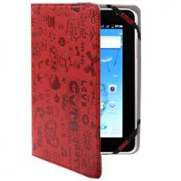 Funda Tablet / Ebook 7 Magic Rojo