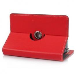 Funda Tablet 7 Satycon Giratoria 360 Rojo