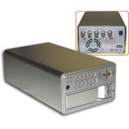 Grabador Videovigilancia 4 Camaras Rack 160Gb