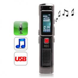 Grabadora de Voz y Mp3 Digital Satycon 8Gb