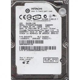 Hdd 2.5 Hitachi  120Gb Sata3 Hts542512K9Sa00