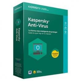 Kaspersky Antivirus 2018 3 Licencias 1 Año